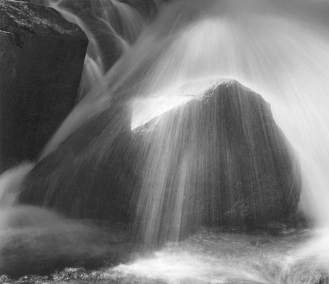ROCK AND SPRAY, MIDDLE FORK OF THE TUOLUMNE RIVER, YOSEMITE