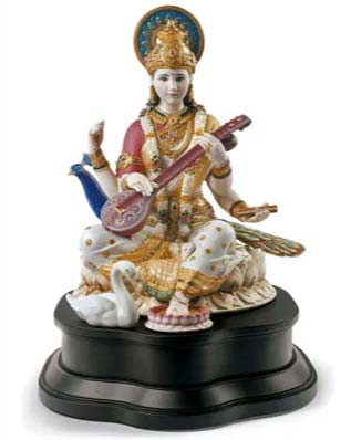 Announcing the LLADRO SARASWATI 01001978, The Newest Hindu Masterwork