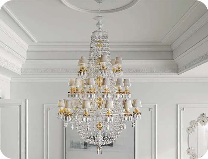 LLADRO ELEVATES CHANDELIERS TO AN ART FORM