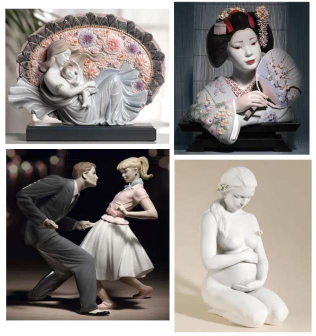 Lladro Figurines Announce The 2014 New Spring Releases