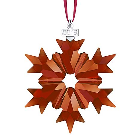 Swarovski has a new Christmas ornament and you wont believe the color!