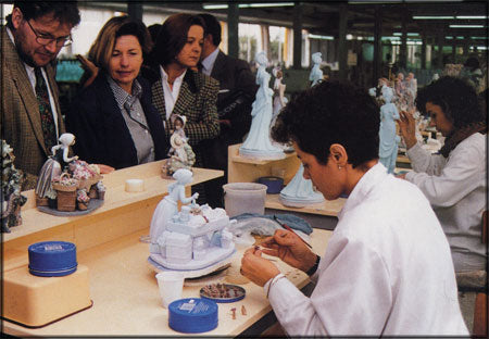 Lladro Artists Making Figurines