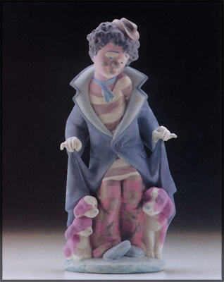 Painted Lladro Porcelain