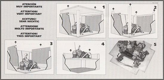 Lladro Packing Instructions