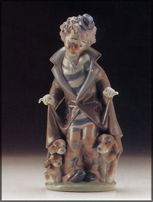 Painted Lladro Statue