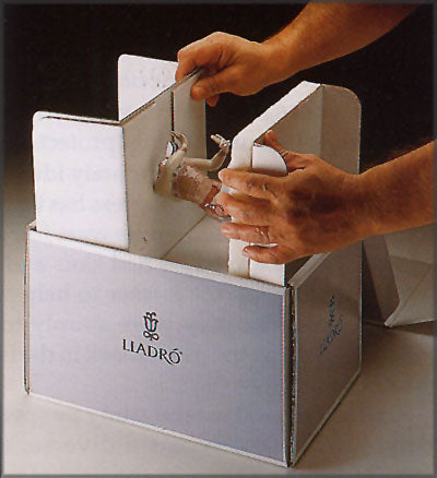 How To Box A Lladro Figurine
