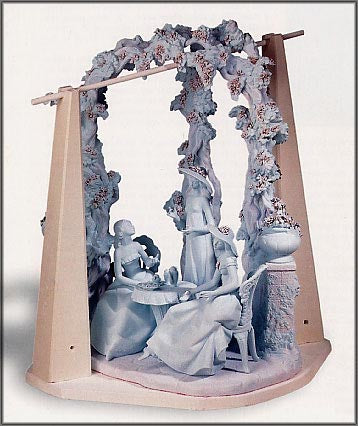 Lladro Porcelain Being Fired