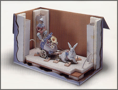 Packing A Lladro Figurine