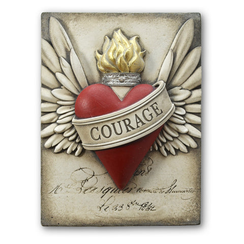 Sid Dickens Courage Memory Tile