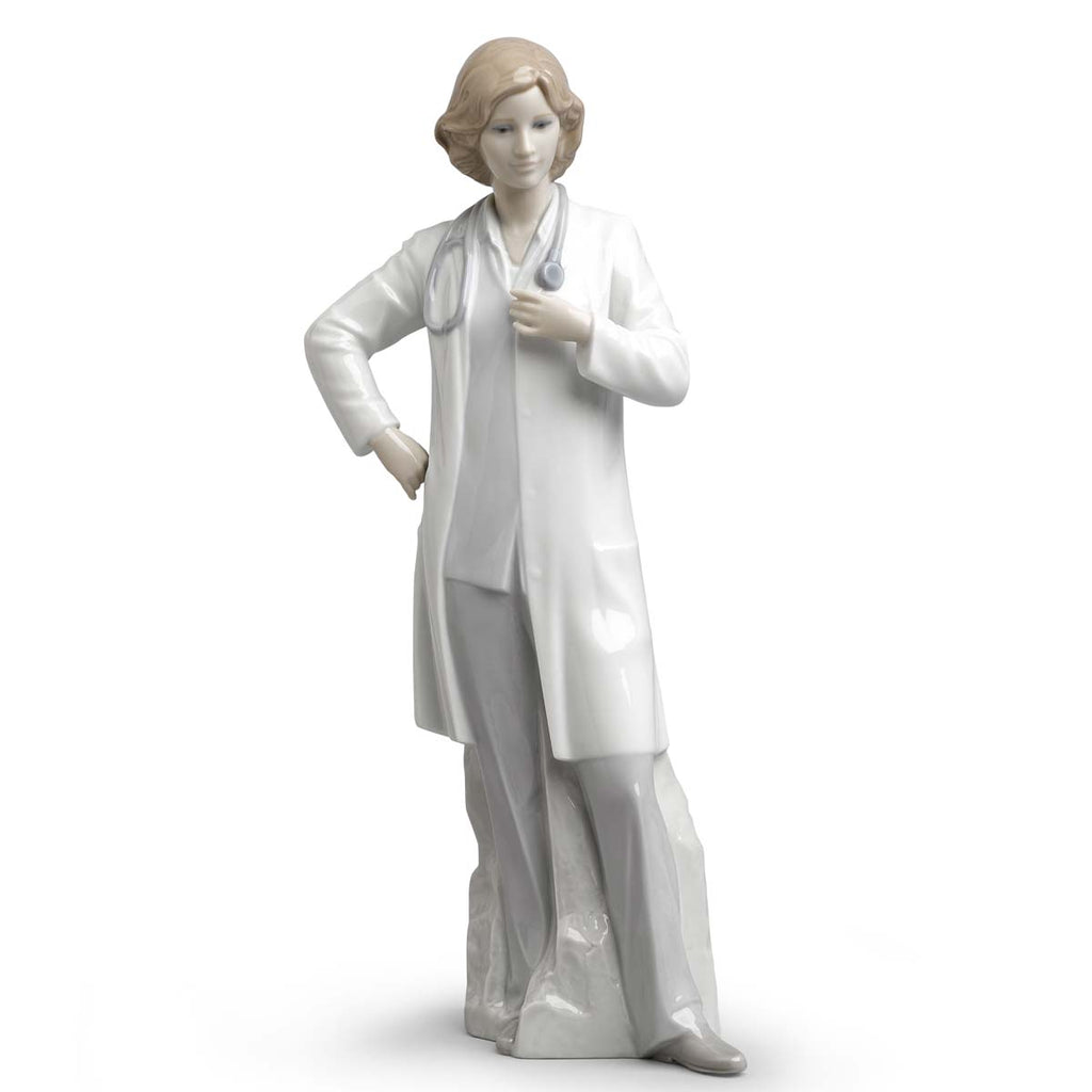 Lladro Female Doctor Figurine 01008189