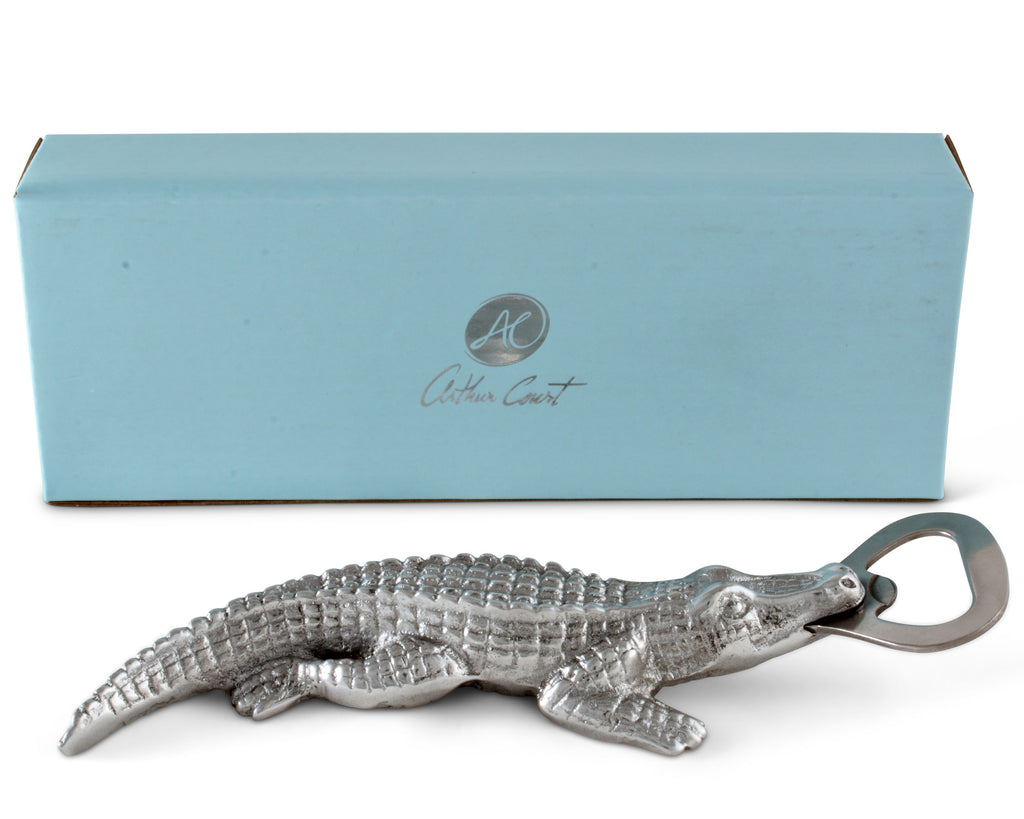 Arthur Court Alligator Bottle Opener 41076