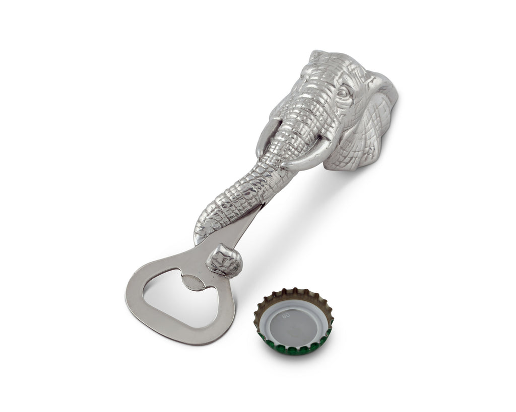 Arthur Court Elephant Bottle Opener 41082