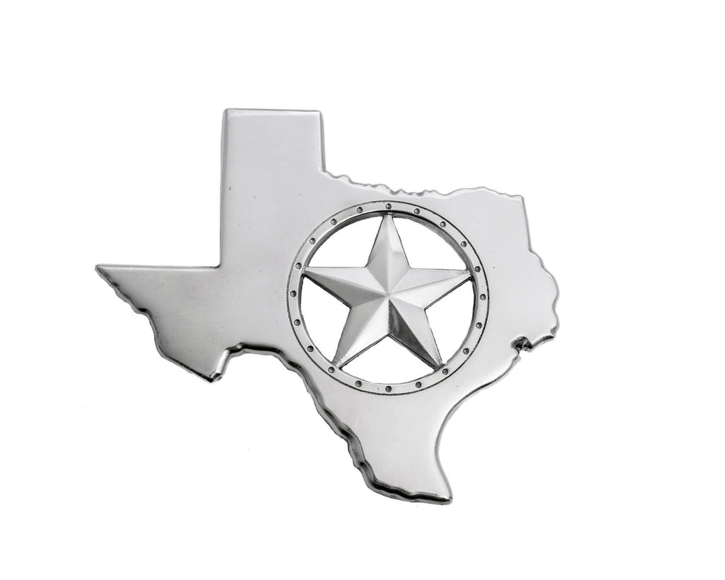 "Arthur Court Designs Aluminum 8"" Texas State and Star Trivet"