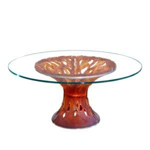 Daum Crystal Toughened Glass Table Top Only 05501