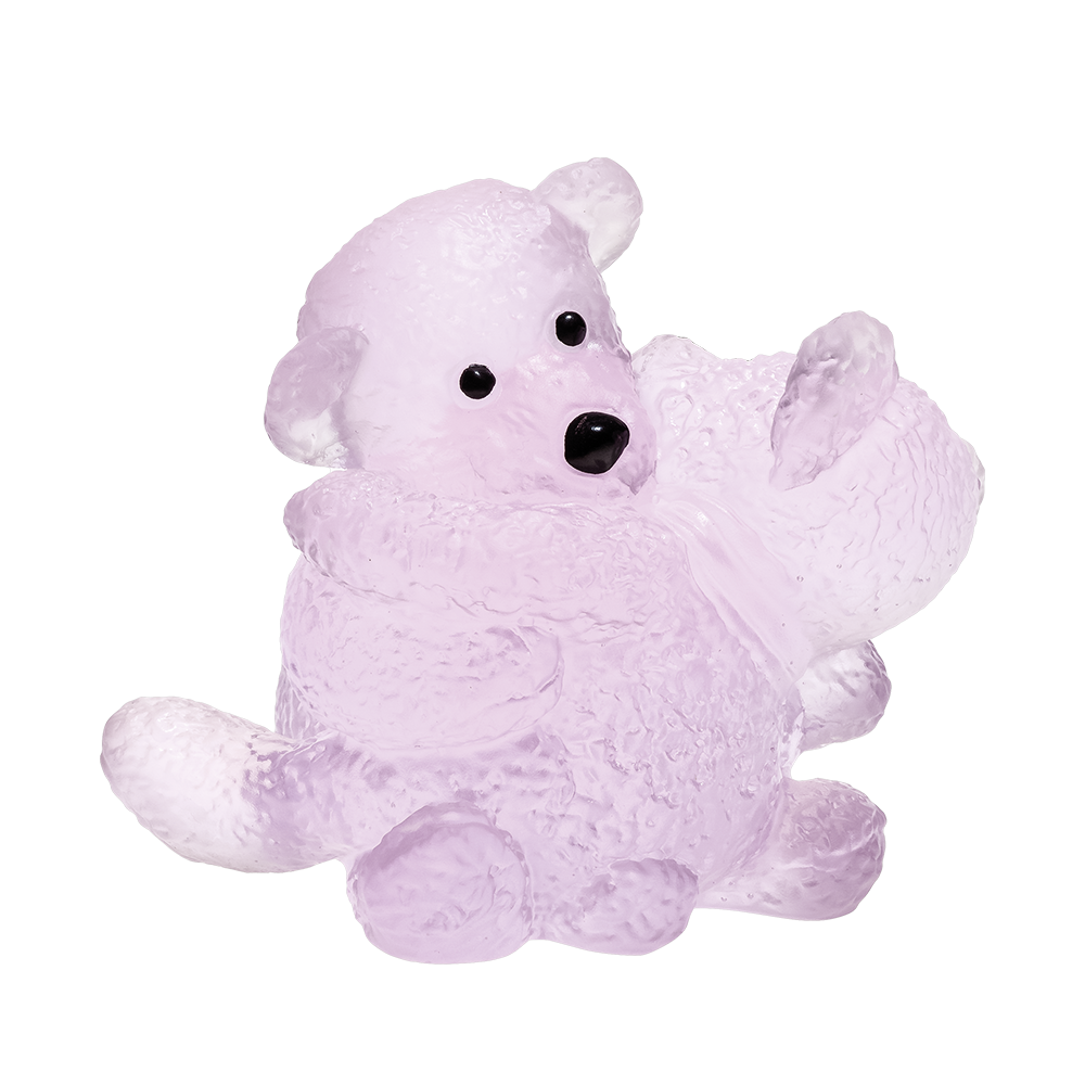 Daum Crystal Pink Teddy Bears 05564