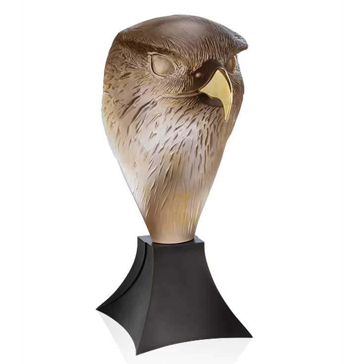 Daum Crystal FalconS Head -Tete De Faucon 05666