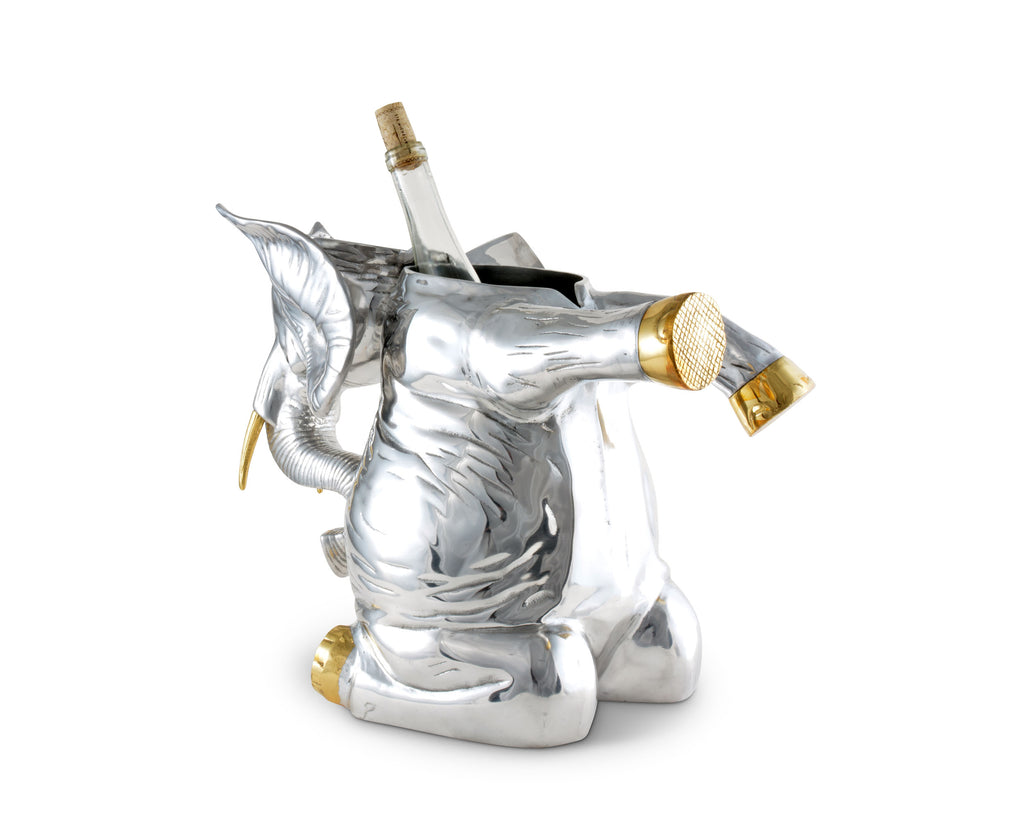 Arthur Court Elephant Ice/Wine Buckets 100352