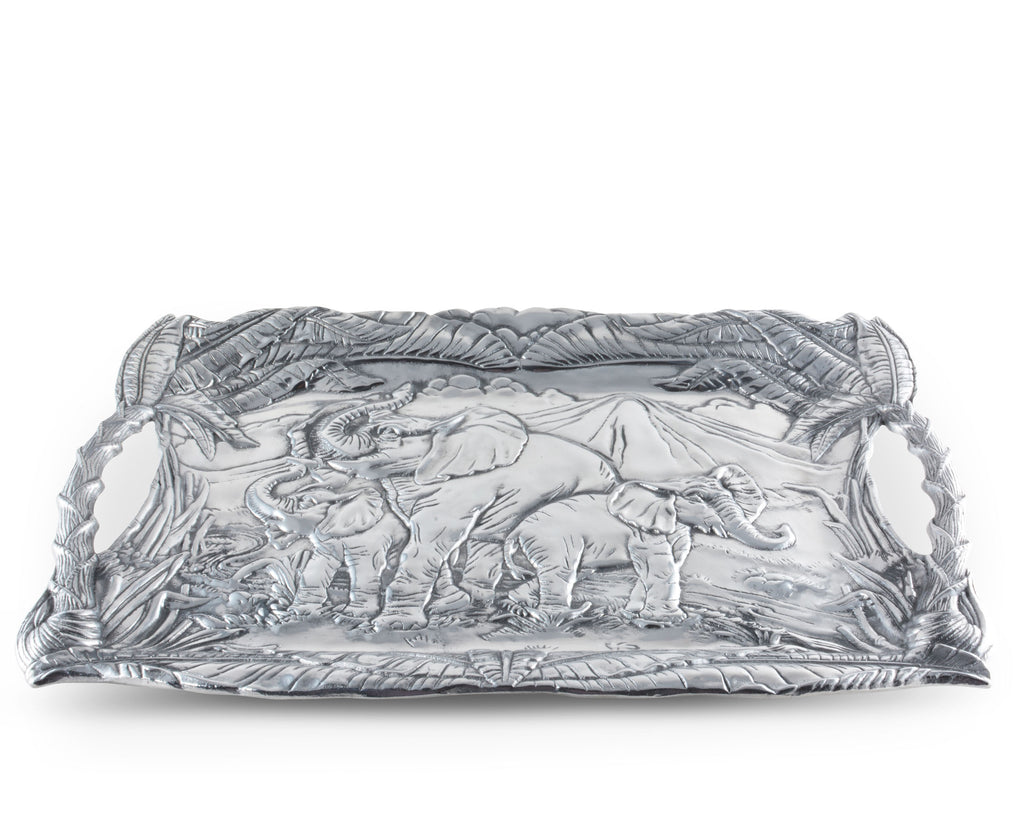 Arthur Court Elephant Clutch Tray 102276
