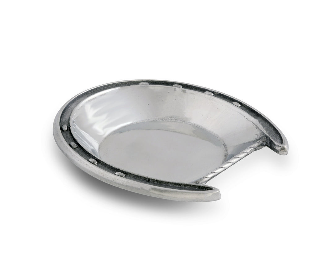 Arthur Court Designs Aluminum Lucky Horseshoe Bowl 5.25""