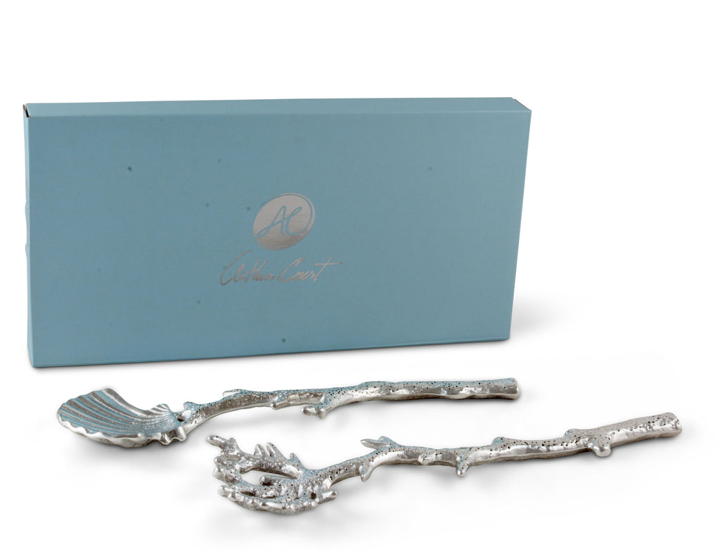 Arthur Court Shell and Sea Life Serving Set 103252