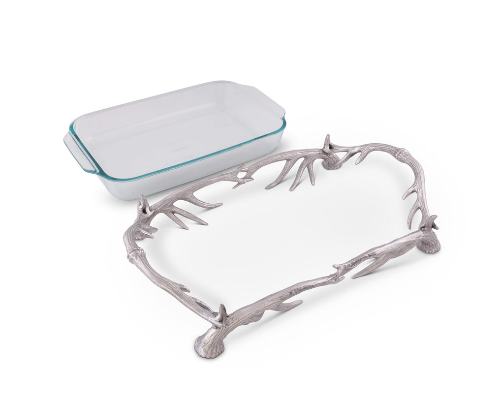 Arthur Court Antler Pyrex Holder 3qt 103330