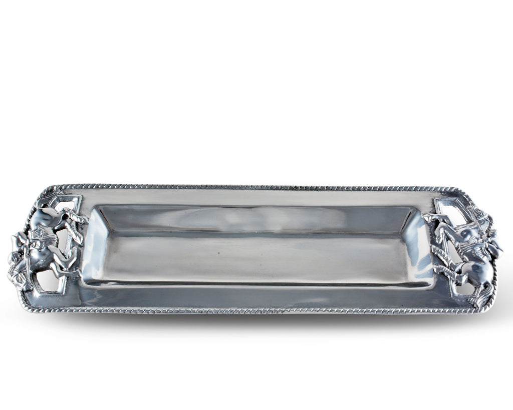 Arthur Court Thoroughbred Oblong Tray 103350