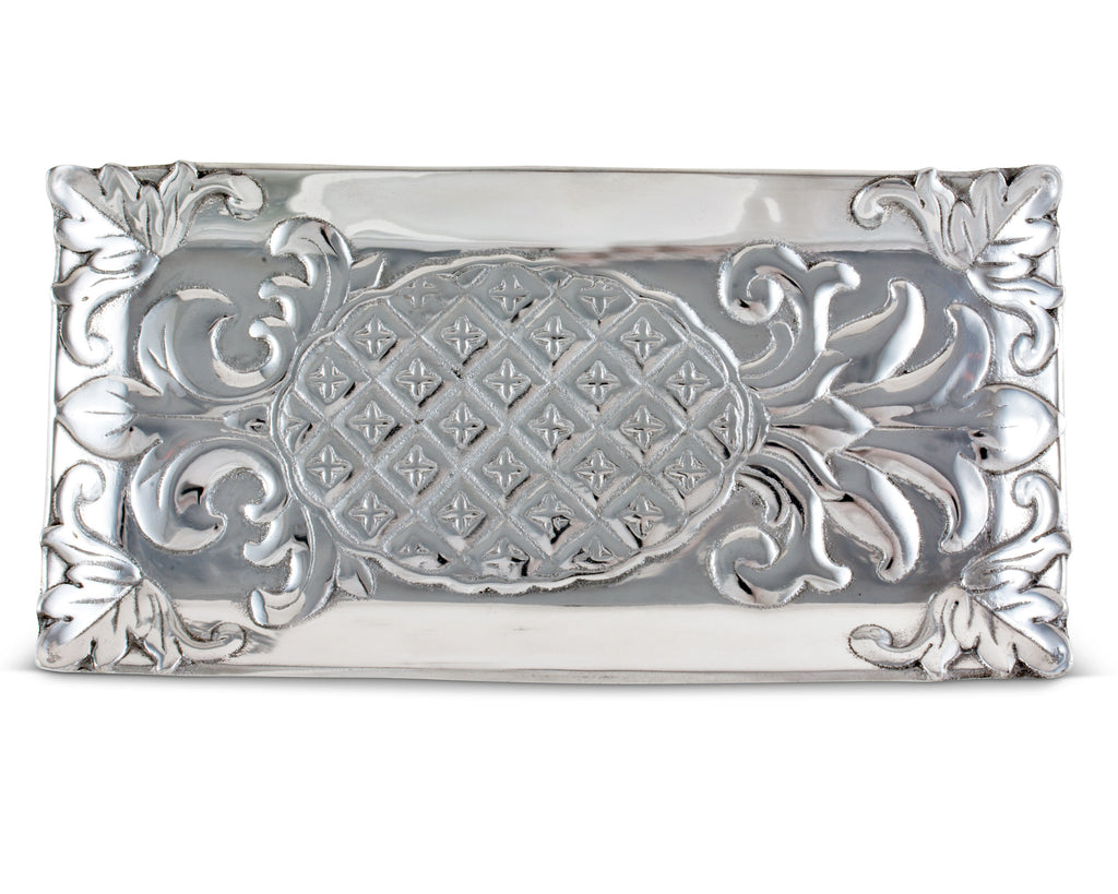 Arthur Court Pineapple Bread Tray 6x12 103458