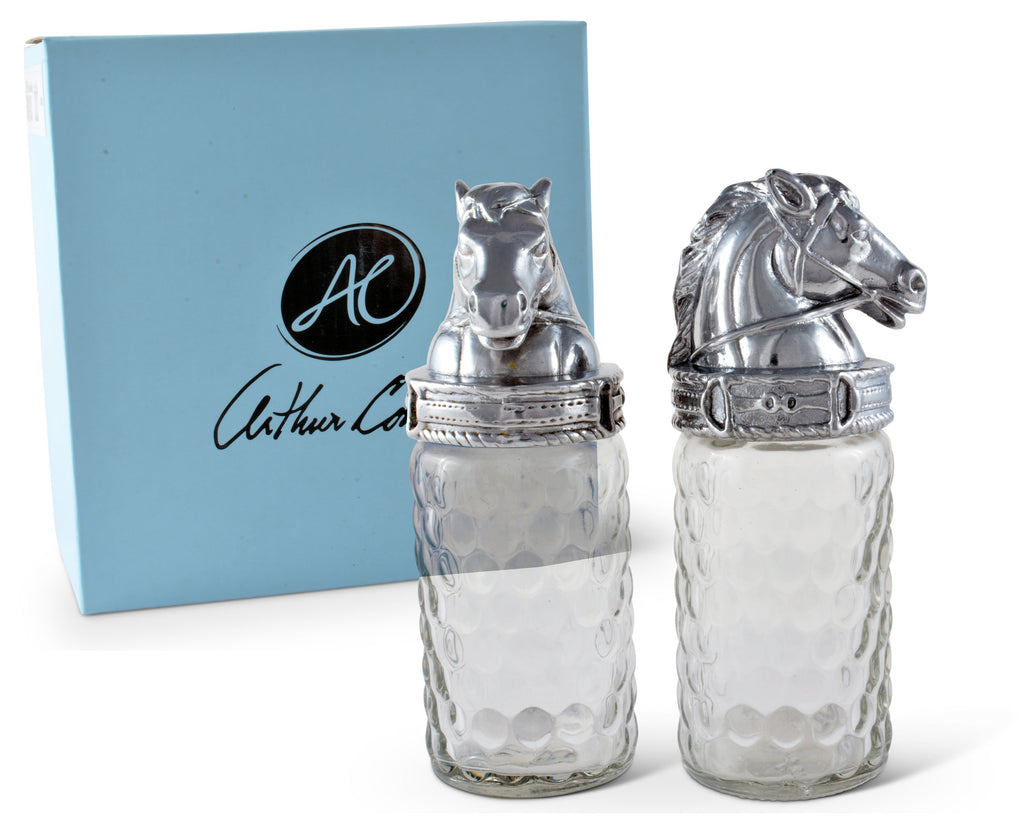 Arthur Court Horse Salt and Pepper Set 103588