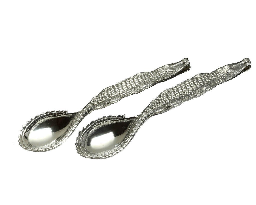 Arthur Court Alligator Figural Serving Set 103694