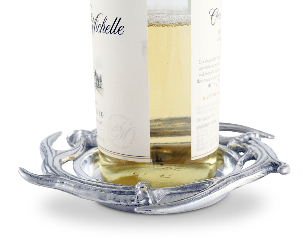Arthur Court Antler Wine Coaster 103870