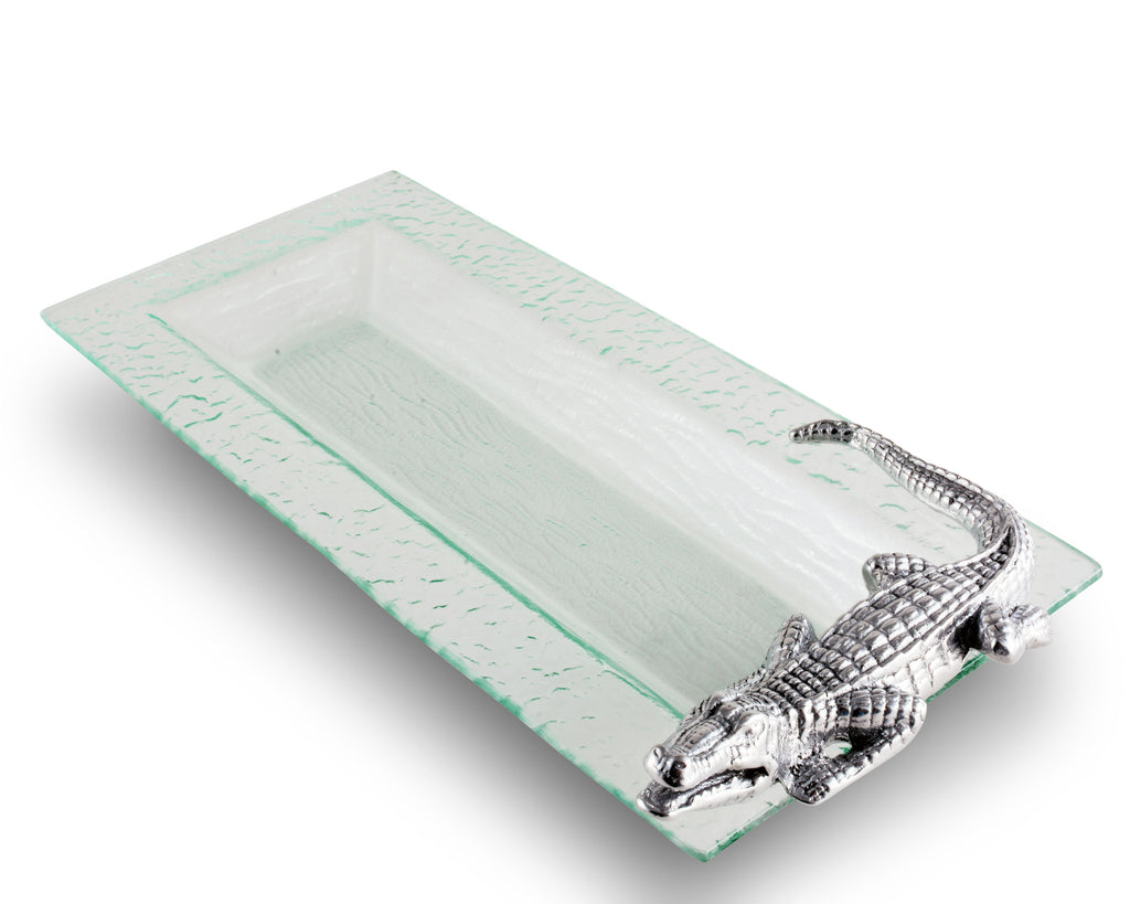 Arthur Court Alligator Oblong Tray 103918