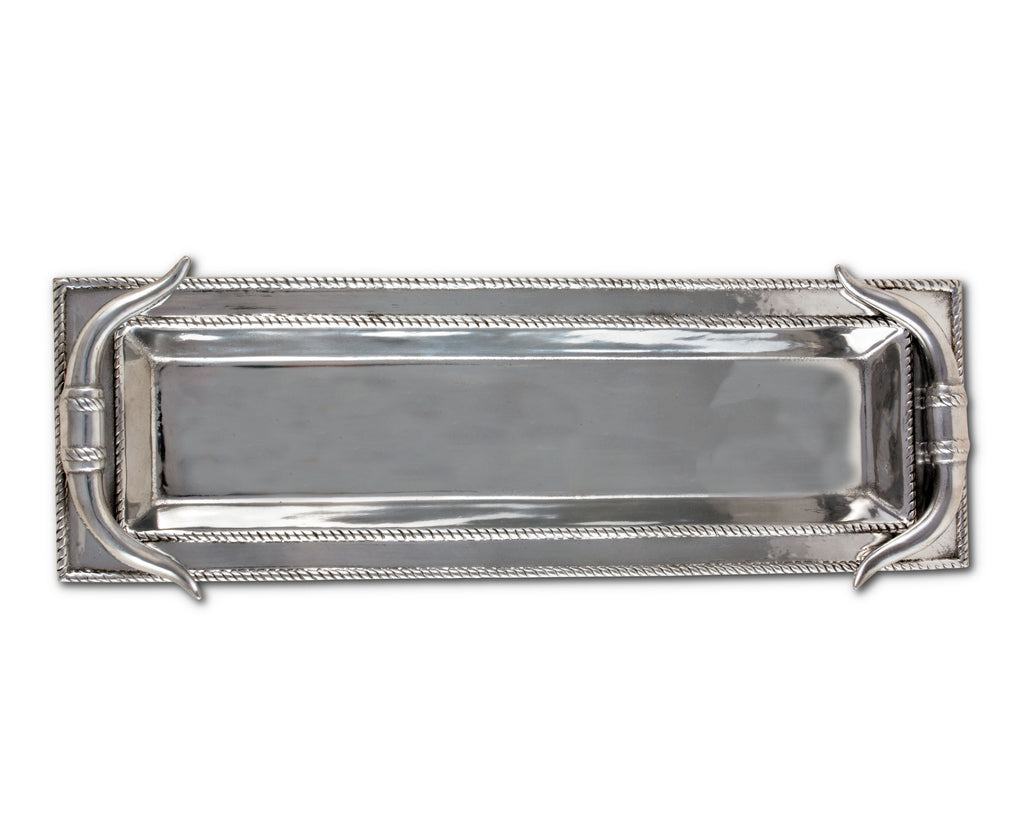 Arthur Court Longhorn Oblong Tray 103996
