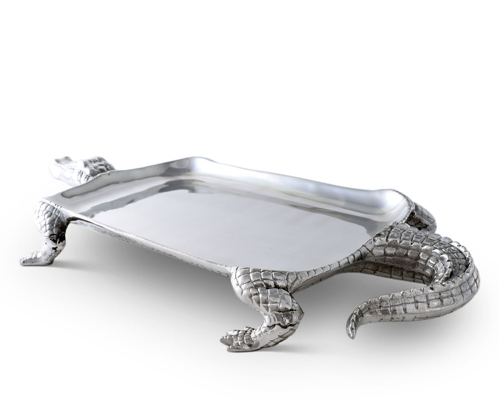 Arthur Court Alligator Figural Platter 104032