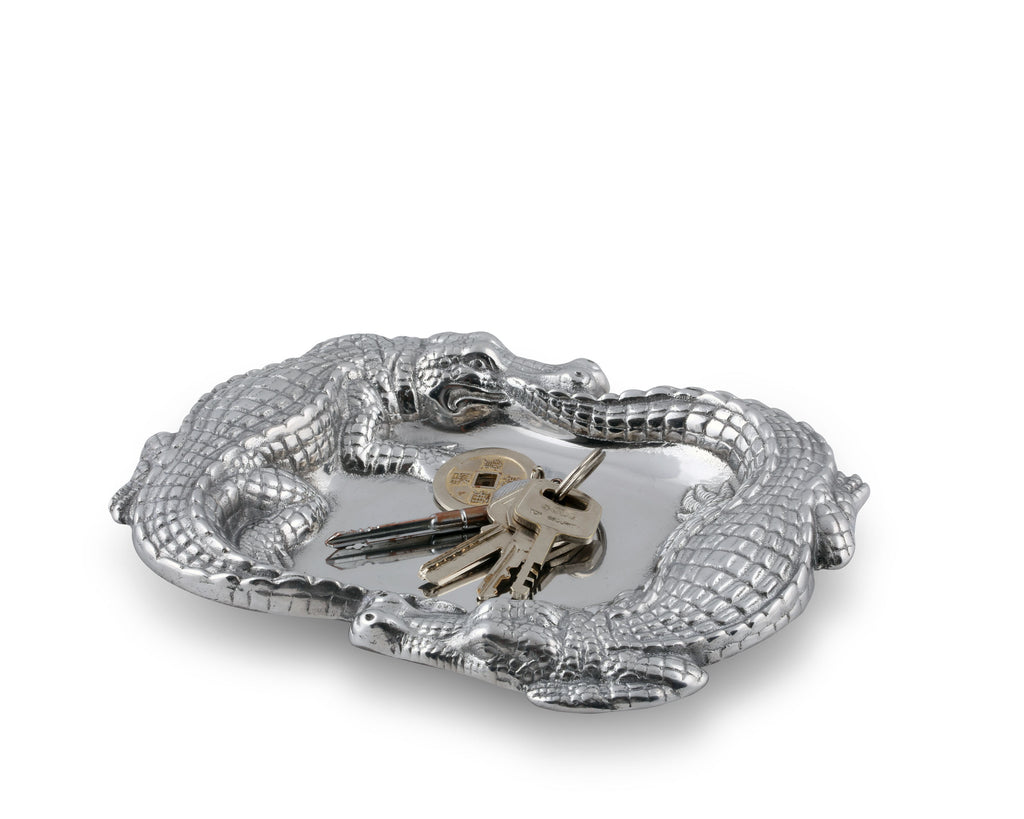 Arthur Court Alligator Catchall 104102