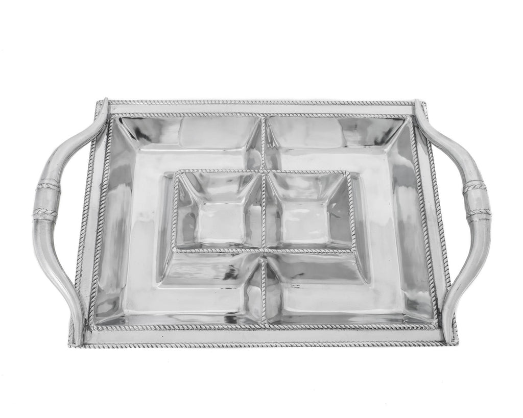 Arthur Court Longhorn Entertainment Tray 104116