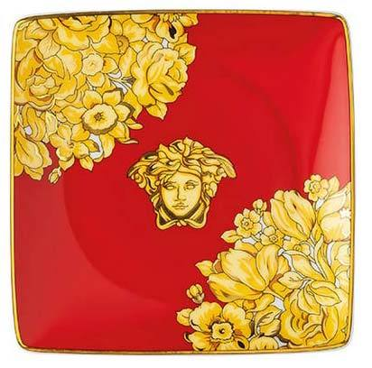 Versace Medusa Rhapsody Red Canape Dish 11940-403671-15253