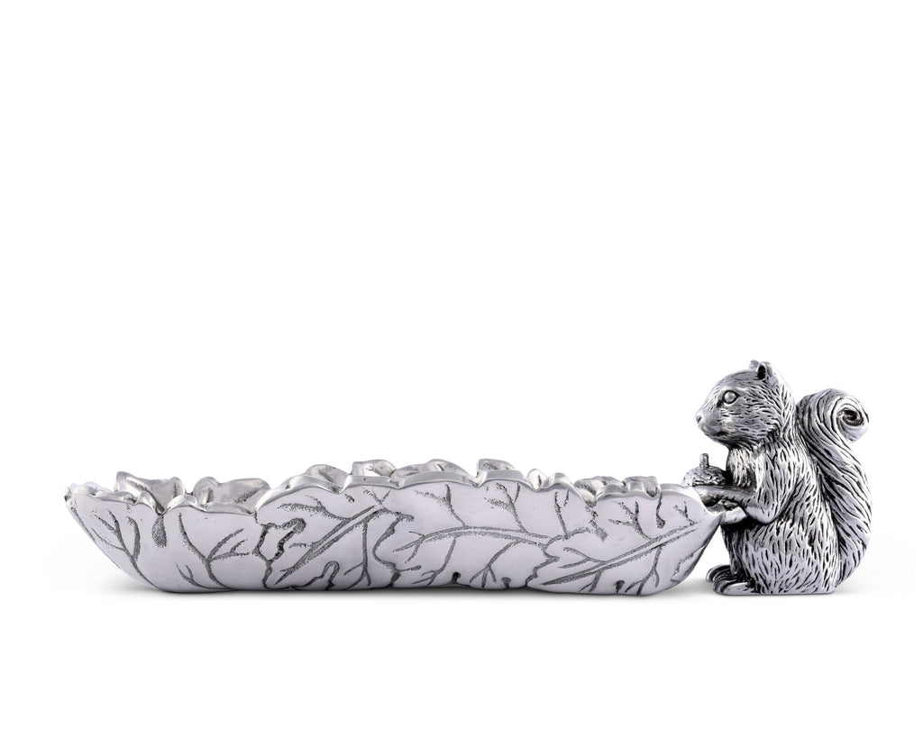 Arthur Court Squirrel Cracker Tray 126L12