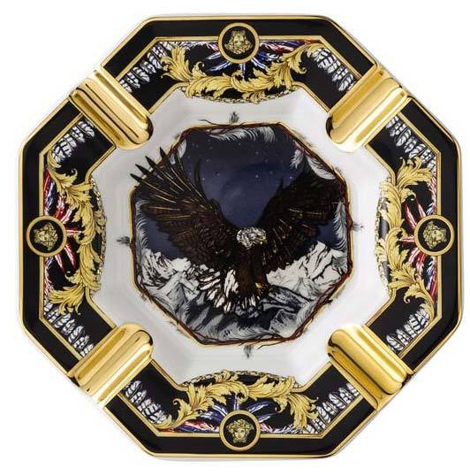 Versace La Regne Animal Sam Eagle Ashtray 14096-403669-27233