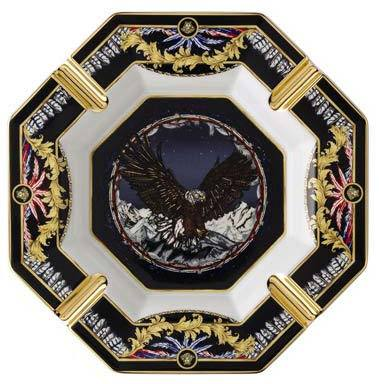 Versace La Regne Animal Sam Eagle Ashtray 14096-403669-27243