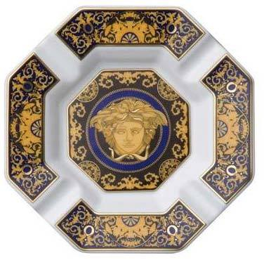 Versace Medusa Blue Ashtray 14096-409620-27233