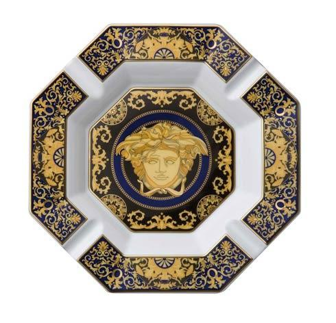 Versace Medusa Blue Cigar Ashtray 14096-409620-27243