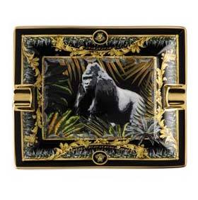 Versace La Regne Animal Bob Gorilla Ashtray 14269-403666-27231