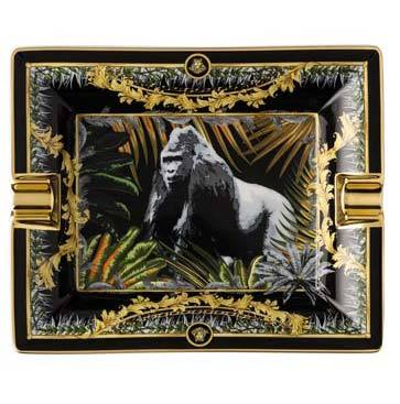 Versace La Regne Animal Bob Gorilla Ashtray 14269-403666-27236