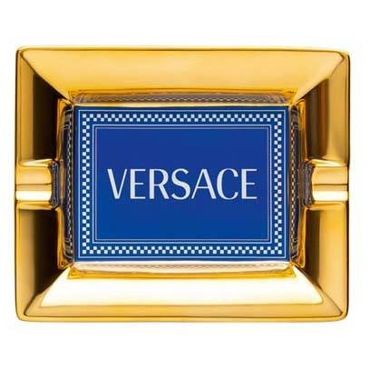Versace Medusa Rhapsody Blue Ashtray 14269-403672-27231