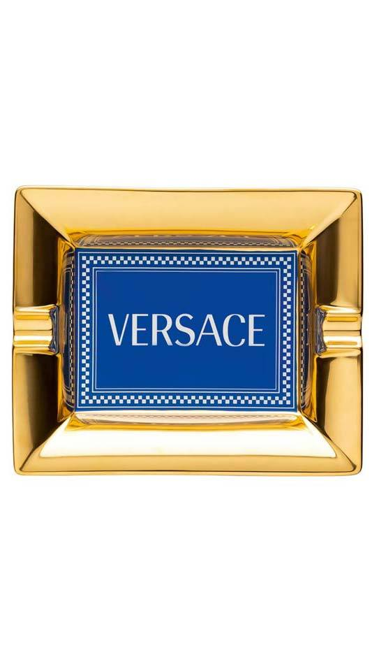 Versace Medusa Rhapsody Blue Ashtray 14269-403672-27236