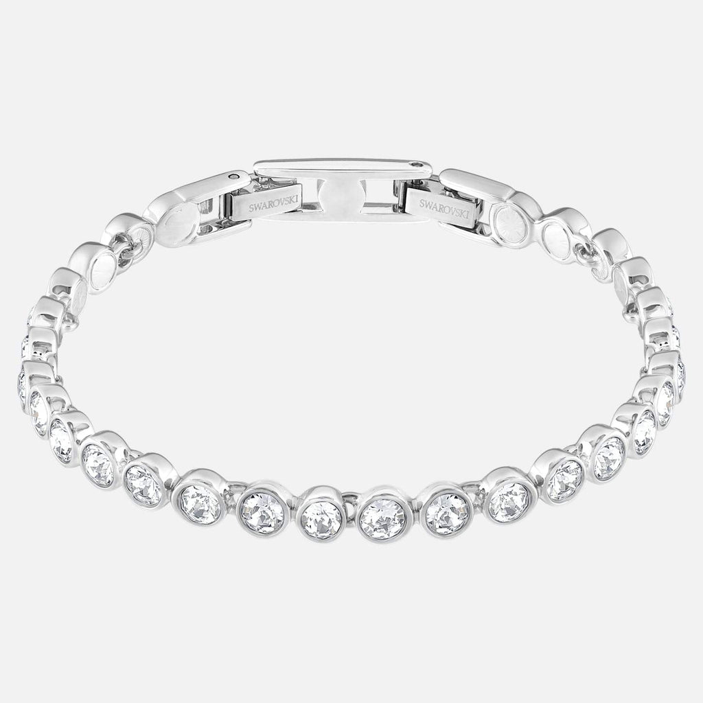 Swarovski Jewelry Tennis Bracelet White Rhodium Plated 1791305