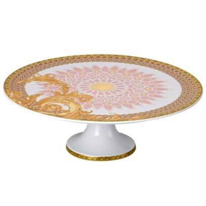 Versace Byzantine Dreams Footed Cake Plate 19300-403624-12845