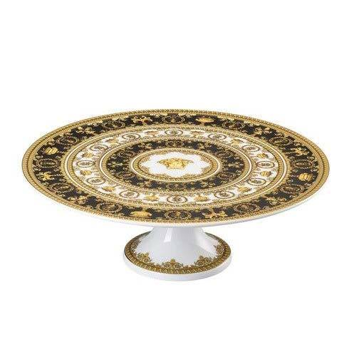 Versace I Love Baroque Footed Cake Plate 19300-403651-12845