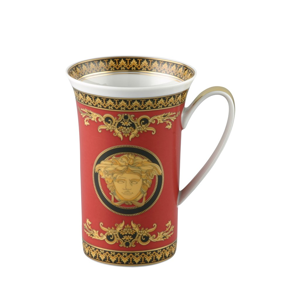 Versace Medusa Red Chocolate Mug 19315-409605-14580