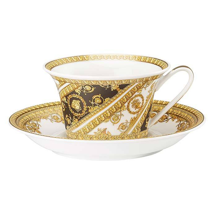 Versace I Love Baroque Tea Cup & Saucer 19325-403651-14640